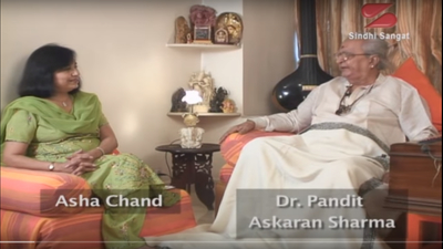 Dr. Pandit Askaran Sharma Interview by Asha Chand