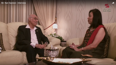 Mr. Nari Sawlani Interviewed by Asha Chand